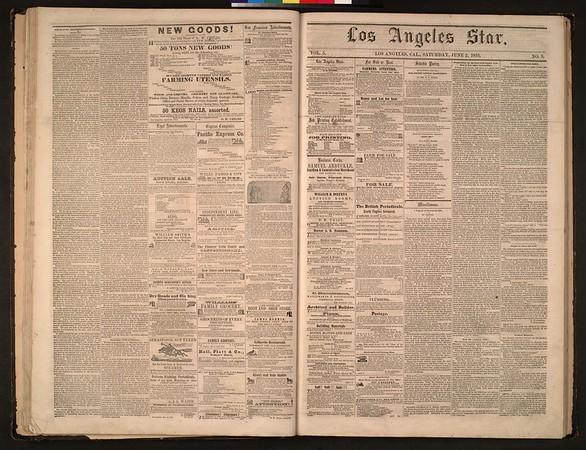 Los Angeles Star, vol. 5, no. 2, May 26, 1855