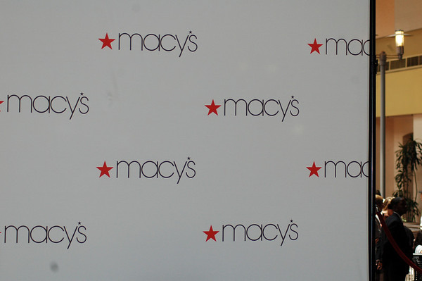 World Champion Los Angeles Laker Lamar Odom and wife Chloe at Macy's