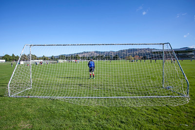 Action from the Under 15B football match between HIBs and St Pats Silverstream played at HIBs , Upper Hutt, New Zealand on 9 May 2015. Copyright: John Mathews +64 2744 54321