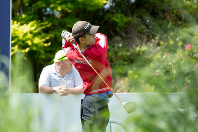 Tirto Tamardi from Indonesia on Practice Day 1 of the Asia-Pacific Amateur Championship tournament 2017 held at Royal Wellington Golf Club, in Heretaunga, Upper Hutt, New Zealand from 26 - 29 October 2017. Copyright John Mathews 2017.   www.megasportmedia.co.nz