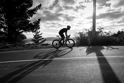 Photos taken in the early morning light of Craig Mathews cycling in the Blue Mountains, Upper Hutt, Wellington, New Zealand on 26 May 2017.  Copyright: John Mathews2017    www.megasportmedia.co.nz