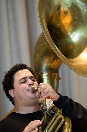 """Clark Gayton<br /> <br />  <a href=""""http://www.myspace.com/clarkgayton"""">http://www.myspace.com/clarkgayton</a>"""