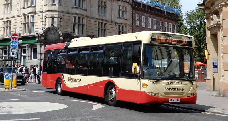 Brighton & Hove 52 - YN58BCF - Brighton (Castle Square)