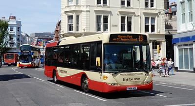 Brighton & Hove 57 - YN58BCV - Brighton (Old Steine)