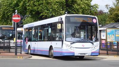 First Cymru  44631 - YX14RWJ - Neath (Victoria Gardens)
