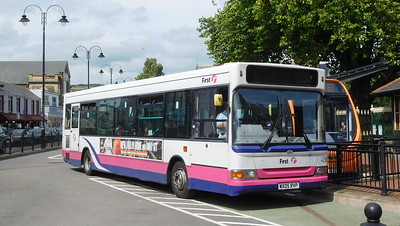 First Cymru 42907 - WX05RVP - Neath (Victoria Gardens)