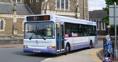 First Cymru 42683 - CU53APY - Neath (Victoria Gardens)