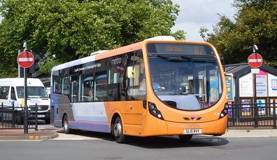 First Cymru 47681 - SL15RVY - Neath (Victoria Gardens)