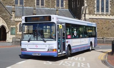 First Cymru 42955 - WX06OMM - Neath (Victoria Gardens)