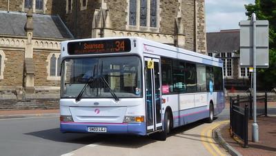 First Cymru 43902 - SN03LGJ - Neath (Victoria Gardens)
