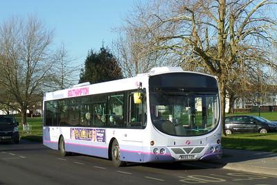 First Southampton 66953 - WX55TZP - Millbrook (Kendal Avenue)