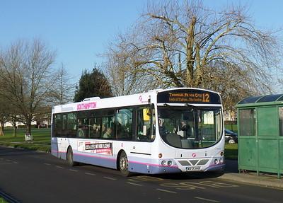First Southampton 66882 - MX55HHR - Millbrook (Kendal Avenue)