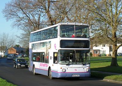 First Southampton 32038 - W808EOW - Millbrook (Kendal Avenue)