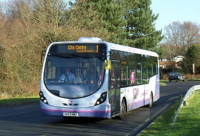 First Southampton 47428 - SK63KMZ - Lordshill Centre