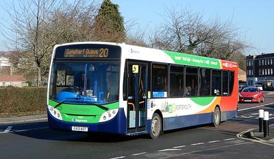 Stagecoach in Portsmouth 27873 - GX13ANV - Cosham (Portsmouth Road)