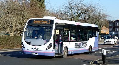 First Solent 47419 - SK63KMF - Cosham (Portsmouth Road)