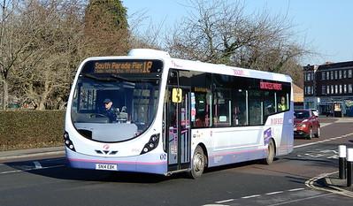 First Solent 47575 - SN14EBK - Cosham (Portsmouth Road)