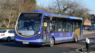 First Solent 63053 - SK63KJN - Cosham (Portsmouth Road)