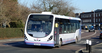 First Solent 63044 - SK63KHV - Cosham (Portsmouth Road)