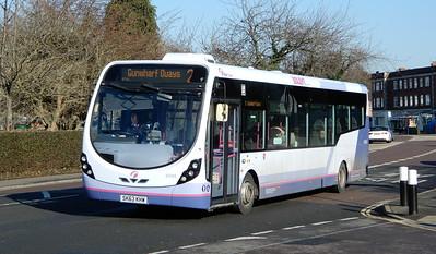 First Solent 63045 - SK63KHW - Cosham (Portsmouth Road)