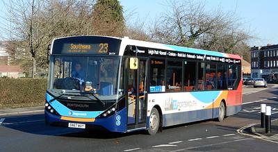Stagecoach in Portsmouth 26154 - SN67WVY - Cosham (Portsmouth Road)