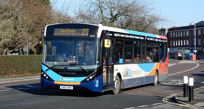 Stagecoach in Portsmouth 26150 - SN67WVU - Cosham (Portsmouth Road)