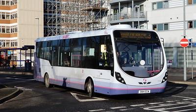 First Solent 47592 - SN14ECW - Cosham (Bus Interchange)