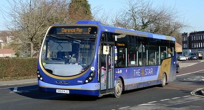 First Solent 63052 - SK63KJJ - Cosham (Portsmouth Road)