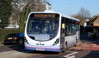 First Solent 47418 - SK63KME - Cosham (Portsmouth Road)