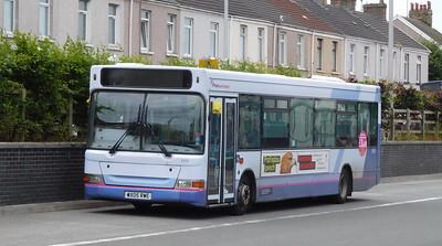 First Cymru 42915 - WX05RWE - Llanelli (bus station)