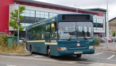 First Cymru 42694 - CU03BHW - Llanelli (bus station)