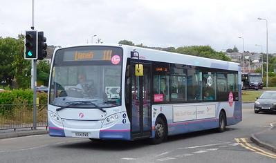 First Cymru 44622 - YX14RVR - Llanelli (Stepney Place)
