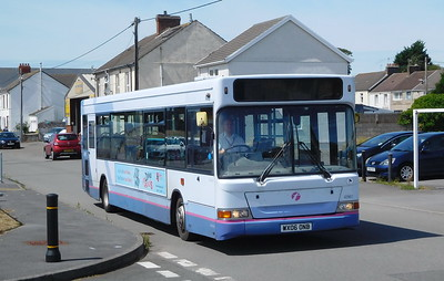 First Cymru 42967 - WX06ONB - Burry Port (Seaview Terrace)