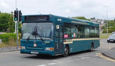 First Cymru 42694 - CU03BHW - Llanelli (Stepney Place)