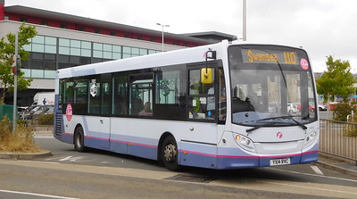 First Cymru 44612 - YX14RVC - Llanelli (bus station)