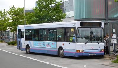First Cymru 42967 - WX06ONB - Llanelli (bus station)