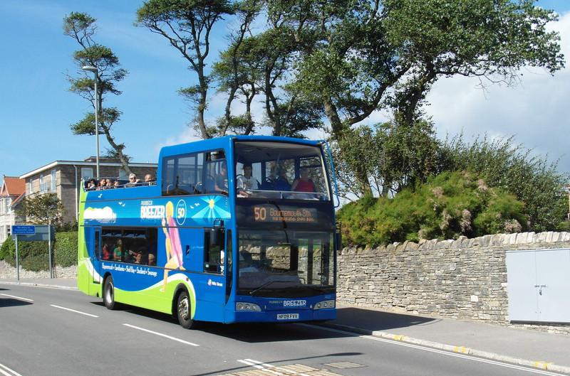 Wilts & Dorset 1402 - HF09FVV - Swanage (seafront) - 26.8.12