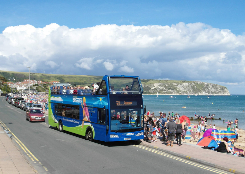 Wilts & Dorset 1405 - HF09FVY - Swanage (seafront) - 26.8.12