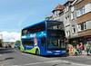 Wilts & Dorset 1408 - HF59DMV - Swanage (town centre) - 26.8.12