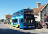 Wilts & Dorset 1404 - HF09FVX - Swanage (railway station) - 26.8.12