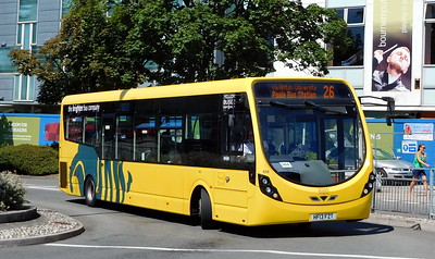 RATP Yellow Buses 858 - HF13FZT - Poole (Kingland Road)