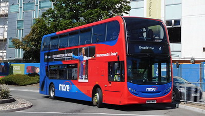 Wilts & Dorset 1612 - HF65AYS - Poole (Kingland Road)