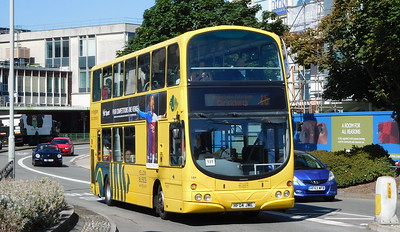 RATP Yellow Buses 184 - HF04JWE - Poole (Kingland Road)