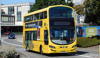 RATP Yellow Buses 199 - BF15KFL - Poole (Kingland Road)