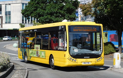 RATP Yellow Buses 13 - R13TYB - Poole (Kingland Road)