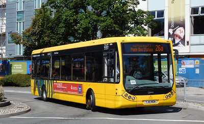 RATP Yellow Buses 104 - YJ10MDN - Poole (Kingland Road)