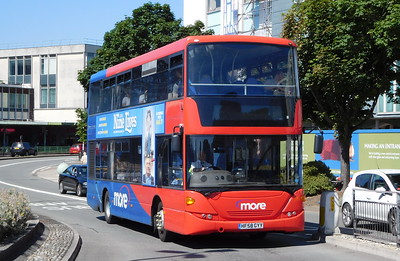 Wilts & Dorset 1119 - HF58GYY - Poole (Kingland Road)