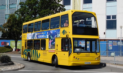 RATP Yellow Buses 113 - HF05HNA - Poole (Kingland Road)