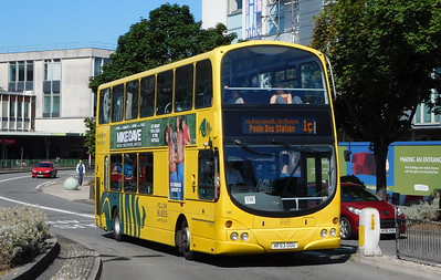 RATP Yellow Buses 180 - HF03ODU - Poole (Kingland Road)