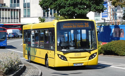 RATP Yellow Buses 516 - GN07FDE - Poole (Kingland Road)